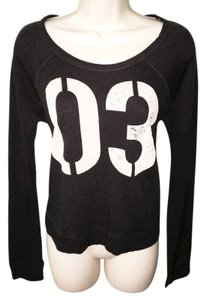 Sundry Football Basketball Lounge Casual Basic Sweater