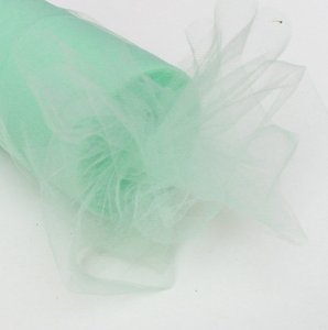 Mint Tulle Roll - 6 Inch X 100 Yards - Tulle For Wedding Decor Flower Girl Dresses