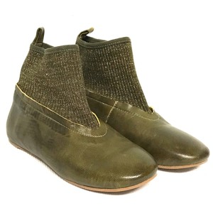 Antelope green Boots
