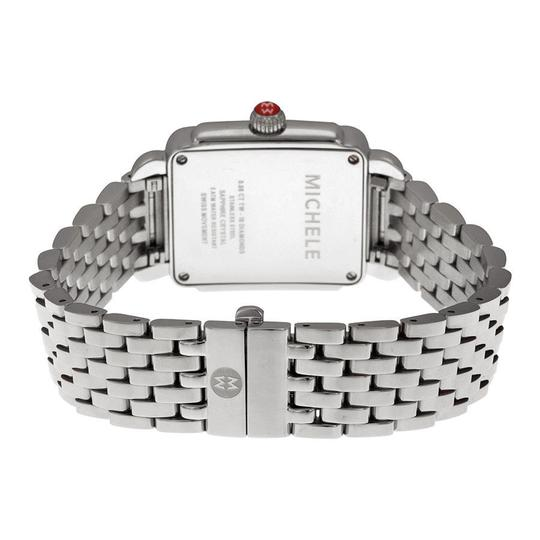 Michele Deco Mid Stainless Steel Mother Of Pearl Diamond Mww06v000002 Image 7