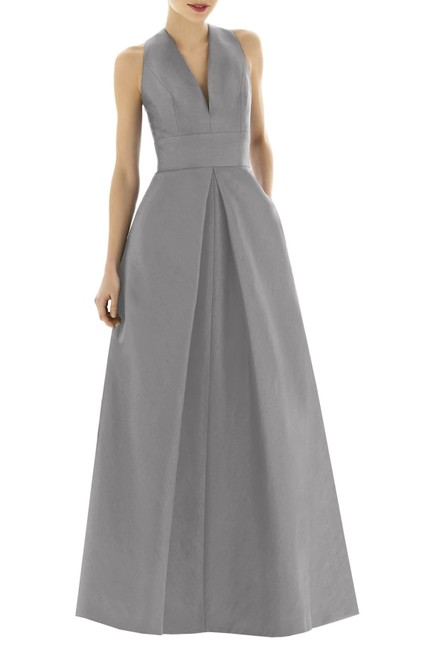 Alfred Sung Bridesmaids Gown Wedding Gown Dress Image 2