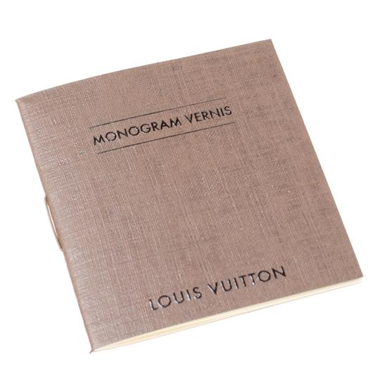 Louis Vuitton Patent Leather Tote in Burgundy Image 10