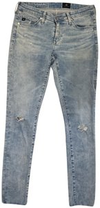 AG Adriano Goldschmied Denim Skinny Jeans-Light Wash