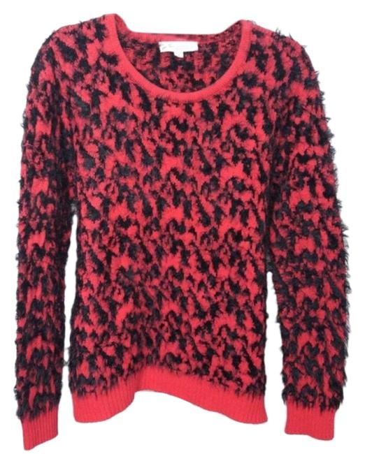 Preload https://img-static.tradesy.com/item/26530158/vince-camuto-two-by-red-black-sweater-0-1-650-650.jpg