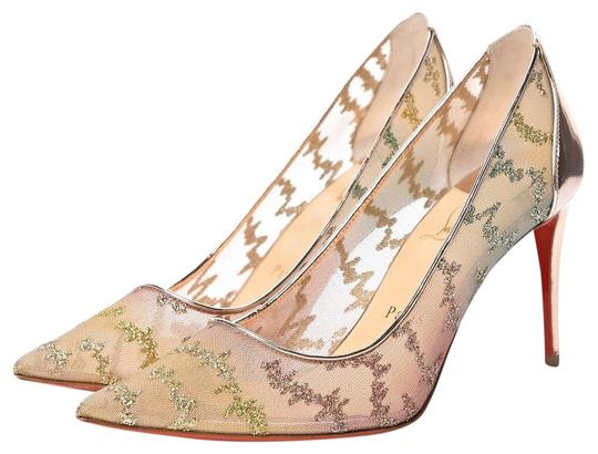 Preload https://img-static.tradesy.com/item/26530167/christian-louboutin-beige-lace-554-blush-poudre-mesh-multi-color-stiletto-pumps-size-eu-40-approx-us-0-1-540-540.jpg
