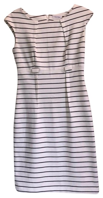 Preload https://img-static.tradesy.com/item/26530172/calvin-klein-black-and-white-mid-length-workoffice-dress-size-2-xs-0-1-650-650.jpg