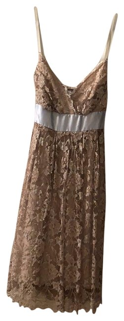 Preload https://img-static.tradesy.com/item/26530174/necessary-objects-beige-lace-with-blue-ribbon-short-night-out-dress-size-6-s-0-1-650-650.jpg