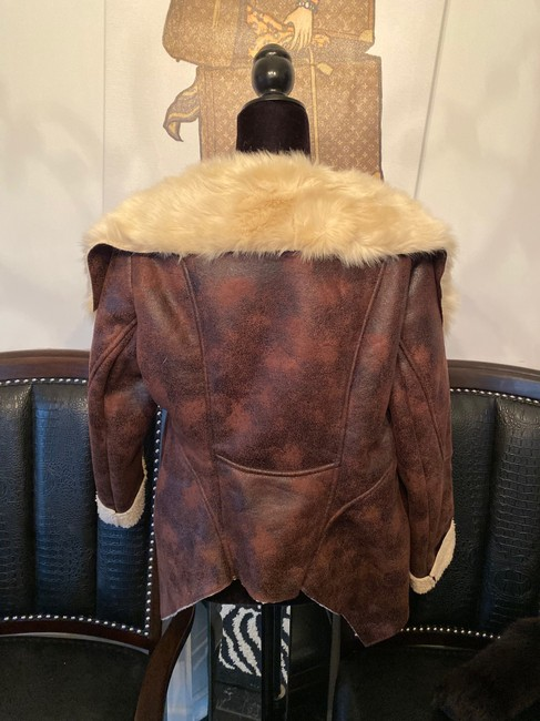 Other Brown Leather Jacket Image 4