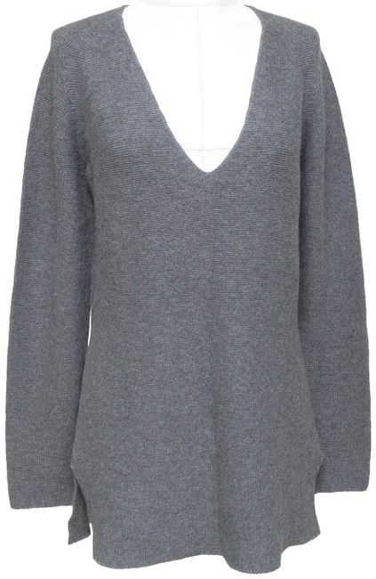 Preload https://img-static.tradesy.com/item/26530241/wolford-l-cashmere-knit-long-sleeve-grey-sweater-0-1-650-650.jpg
