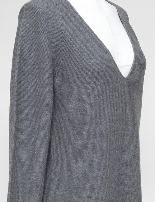 Wolford Cashmere V-neck Long Sleeve Sweater Image 3