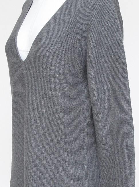 Wolford Cashmere V-neck Long Sleeve Sweater Image 4