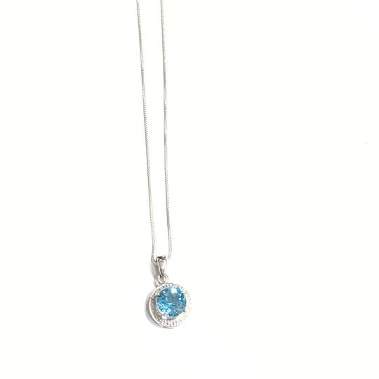 Other GORGEOUS!! Blue Stone Necklace Image 3