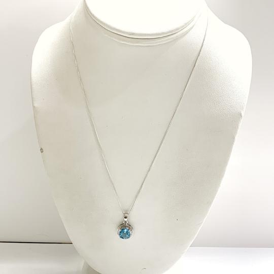 Other GORGEOUS!! Blue Stone Necklace Image 5