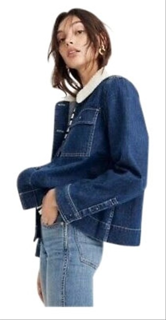 Preload https://img-static.tradesy.com/item/26530319/madewell-denim-northward-cropped-army-sherpa-edition-jacket-size-2-xs-0-3-650-650.jpg