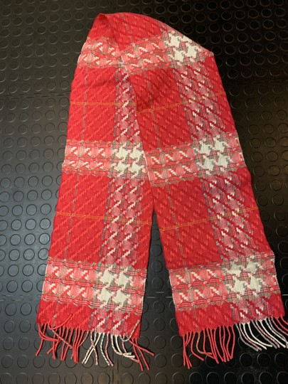 Burberry LONDON BURBERRY LONDON 1291219 $395 PINK WOVEN WITH METALLIC FLEX SCARF WRAP Image 2