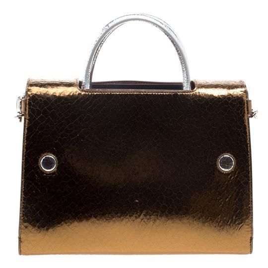 Dior Leather Gold Clutch Image 1