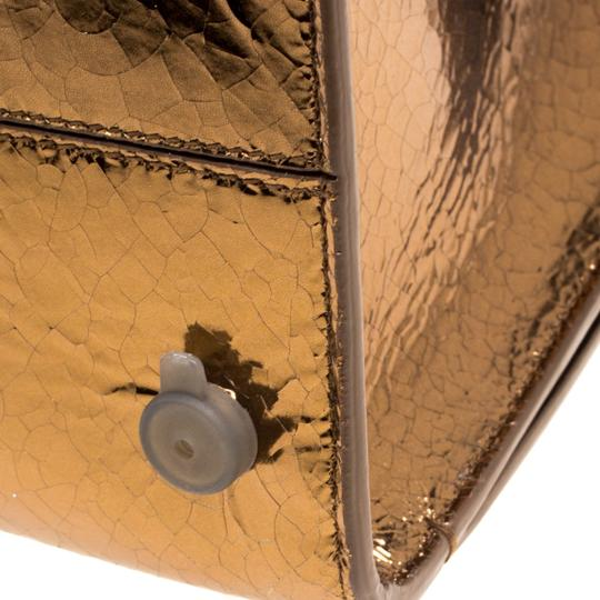 Dior Leather Gold Clutch Image 10