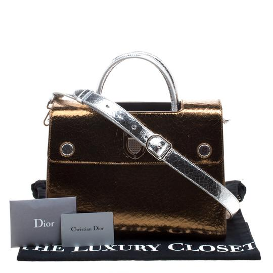 Dior Leather Gold Clutch Image 11