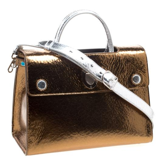 Dior Leather Gold Clutch Image 3