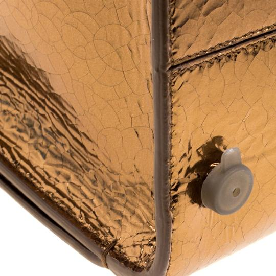 Dior Leather Gold Clutch Image 7