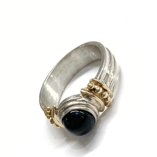 Preload https://img-static.tradesy.com/item/26530443/sterling-silver-and-14-karat-yellow-gold-black-onyx-ring-0-0-540-540.jpg