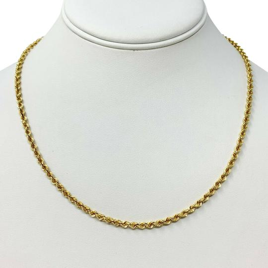 Preload https://img-static.tradesy.com/item/26530460/14k-yellow-gold-hollow-3mm-rope-chain-18-necklace-0-1-540-540.jpg