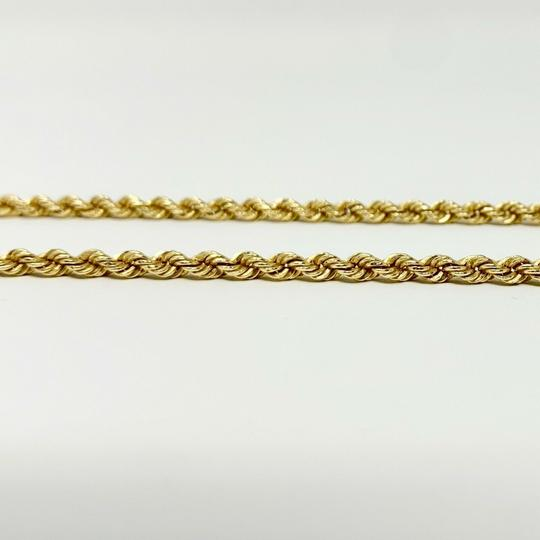 Michael Anthony 14k Yellow Gold Hollow 3mm Michael Anthony Rope Chain Necklace 18
