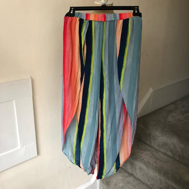 Anthropologie Wide Leg Pants blue multi Image 4