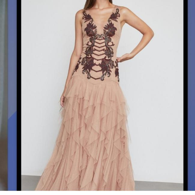 Preload https://item1.tradesy.com/images/bcbgmaxazria-nude-cpt63p31-long-cocktail-dress-size-2-xs-26530480-0-4.jpg?width=400&height=650