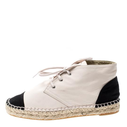 Chanel Leather Canvas Beige Athletic Image 1