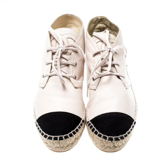 Chanel Leather Canvas Beige Athletic Image 2