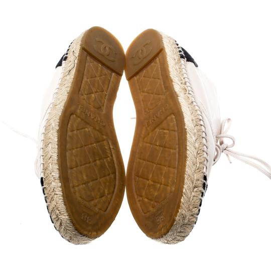 Chanel Leather Canvas Beige Athletic Image 6
