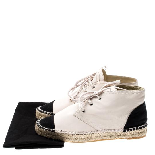 Chanel Leather Canvas Beige Athletic Image 7
