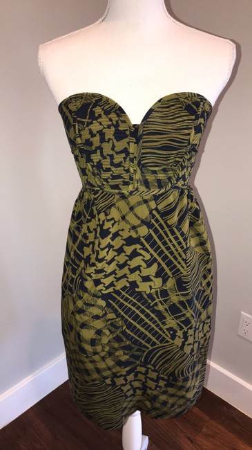 Anthropologie short dress blue and green on Tradesy Image 1