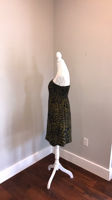 Anthropologie short dress blue and green on Tradesy Image 2