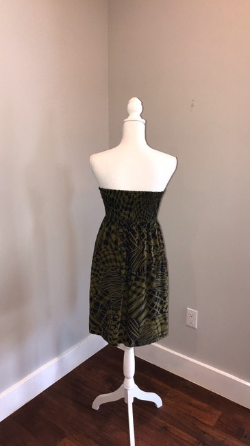Anthropologie short dress blue and green on Tradesy Image 3