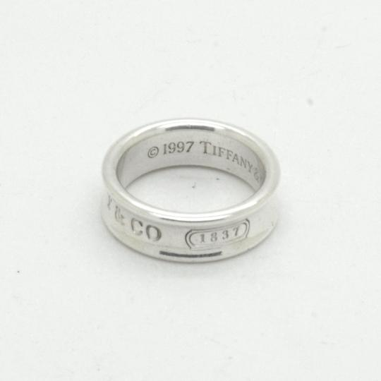 Tiffany & Co. Silver 925 Sterling 1837 Band with Pouch Size 7.5 Image 1