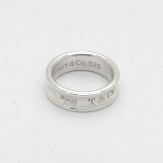 Tiffany & Co. Silver 925 Sterling 1837 Band with Pouch Size 7.5 Image 2