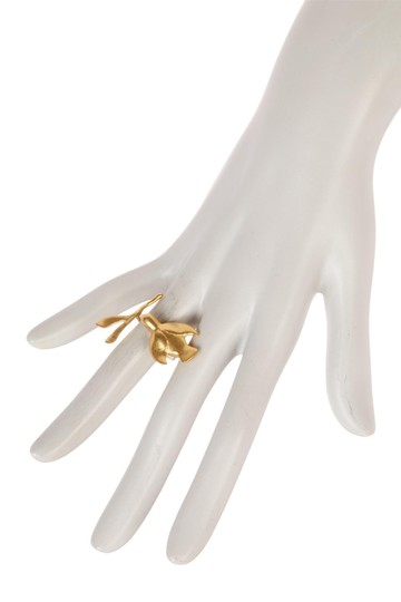 Tory Burch Tory Burch Metallic Dove Ring Image 4