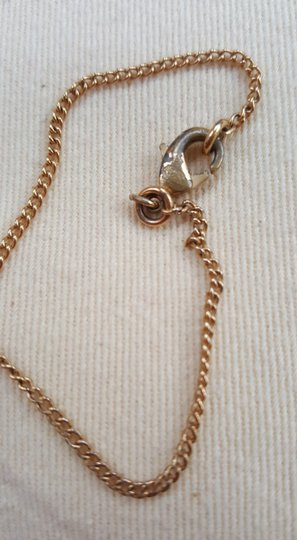 Chanel CHANEL Timeless CC Necklace Matte Gold Tone Byzantine Image 10