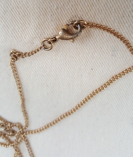Chanel CHANEL Timeless CC Necklace Matte Gold Tone Byzantine Image 8