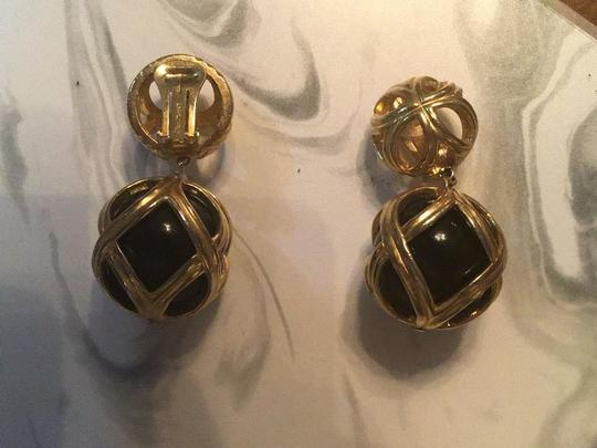 Dior cage onyx clip on Image 1