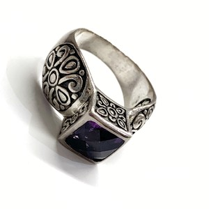 Other GORGEOUS!! Sterling Silver and Purple Stone Ring