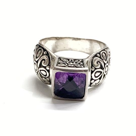 Other GORGEOUS!! Sterling Silver and Purple Stone Ring Image 3