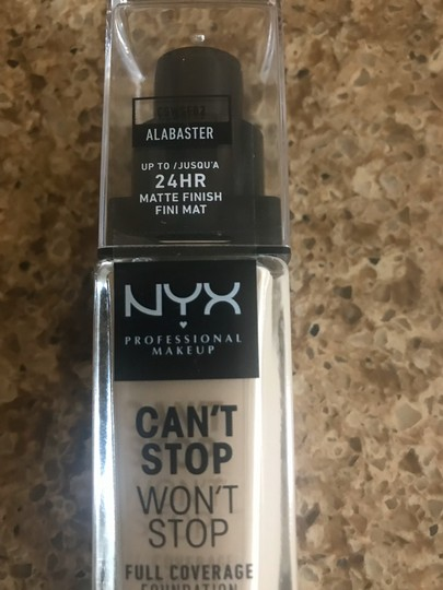 NYX NYX Can't Stop Won't Stop Foundation-Alabaster NWT Image 3
