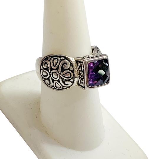 Preload https://img-static.tradesy.com/item/26530748/sterling-silver-and-purple-stone-ring-0-1-540-540.jpg