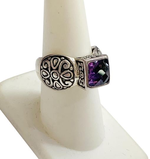 Preload https://img-static.tradesy.com/item/26530797/sterling-silver-and-purple-stone-ring-0-1-540-540.jpg