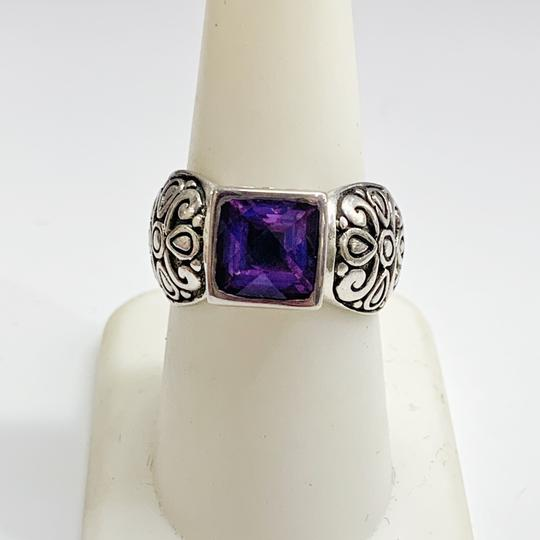 Other GORGEOUS!! Sterling Silver and Purple Stone Ring Image 6