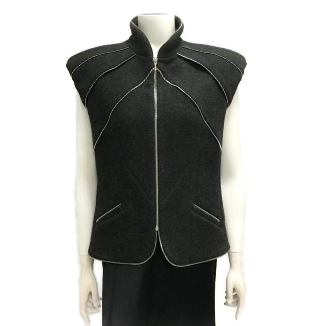 Preload https://img-static.tradesy.com/item/26530837/chanel-multi-zipper-wool-vest-size-8-m-0-1-650-650.jpg