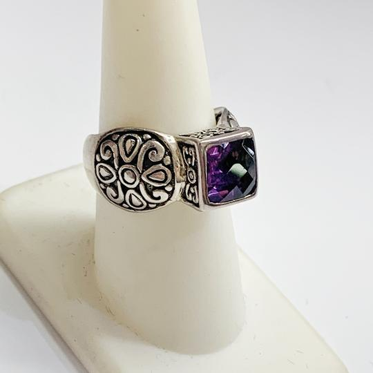 Other GORGEOUS!! Sterling Silver and Purple Stone Ring Image 4
